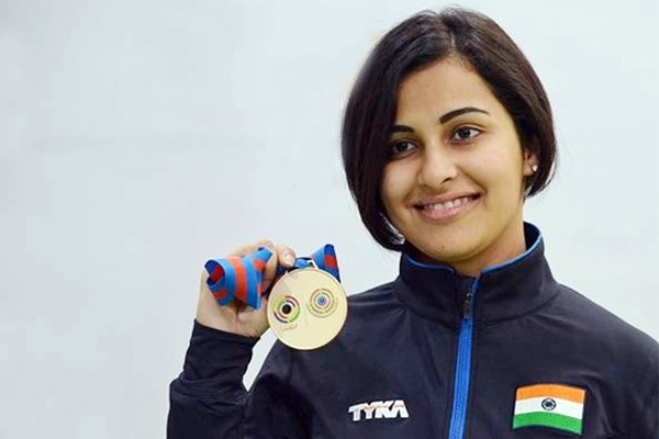 CWG 2018: Heena Sidhu wins gold medal in women's 25m pistol event