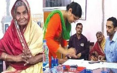 Elderly woman sets example, donates lands worth Rs 2 cr for old age home
