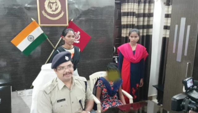 Woman cadre Maoist surrenders in Nuapada