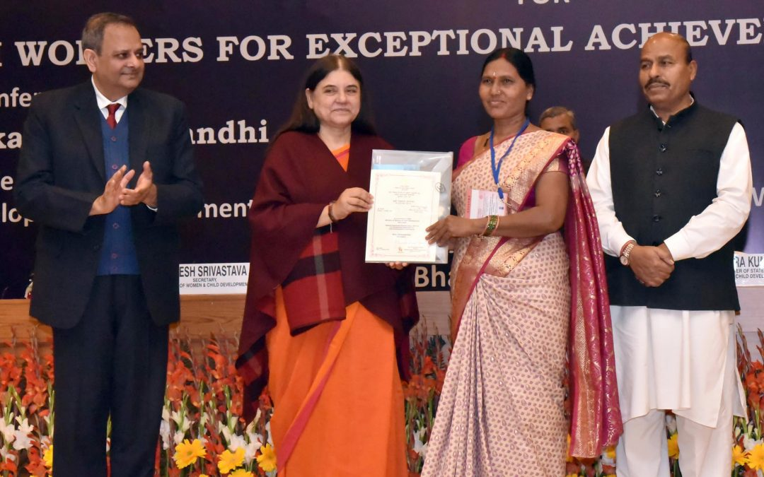 97 Anganwadi workers conferred with National Awards for Exceptional Achievements